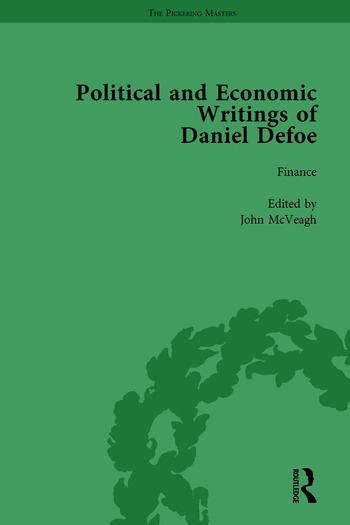 The Political and Economic Writings of Daniel Defoe Vol 6 book cover