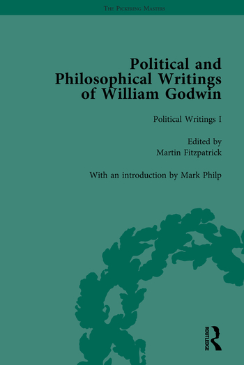 The Political and Philosophical Writings of William Godwin vol 1 book cover
