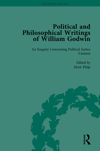 The Political and Philosophical Writings of William Godwin vol 4 book cover
