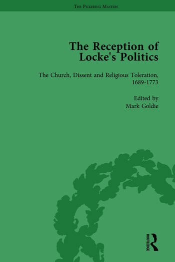 The Reception of Locke's Politics Vol 5 From the 1690s to the 1830s book cover