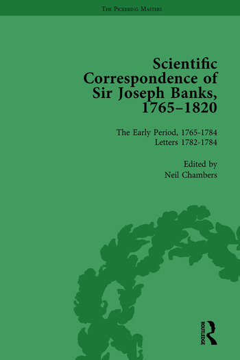 The Scientific Correspondence of Sir Joseph Banks, 1765-1820 Vol 2 book cover