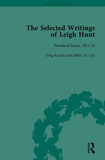 The Selected Writings of Leigh Hunt Vol 2 book cover