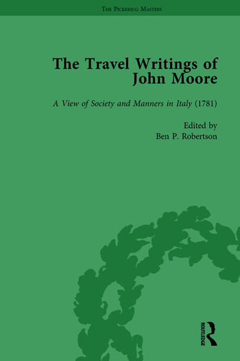 The Travel Writings of John Moore Vol 2 book cover