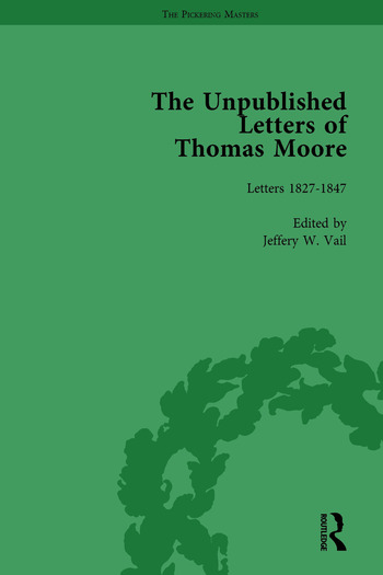 The Unpublished Letters of Thomas Moore Vol 2 book cover