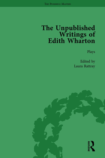 The Unpublished Writings of Edith Wharton Vol 1 book cover