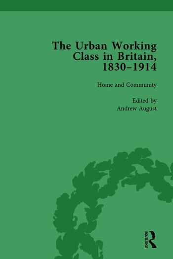 The Urban Working Class in Britain, 1830–1914 Vol 1 book cover