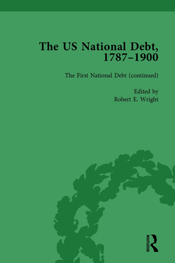 The US National Debt, 1787-1900 Vol 2 book cover