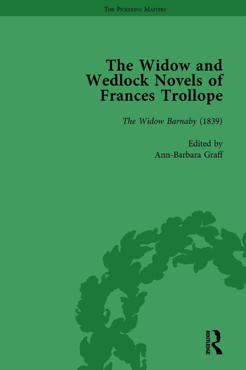 The Widow and Wedlock Novels of Frances Trollope Vol 1 book cover