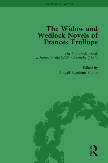 The Widow and Wedlock Novels of Frances Trollope Vol 2 book cover