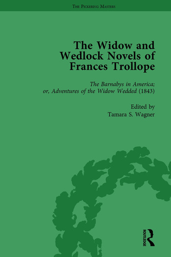The Widow and Wedlock Novels of Frances Trollope Vol 3 book cover