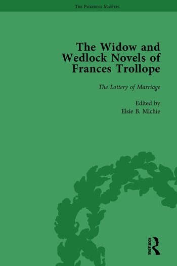The Widow and Wedlock Novels of Frances Trollope Vol 4 book cover