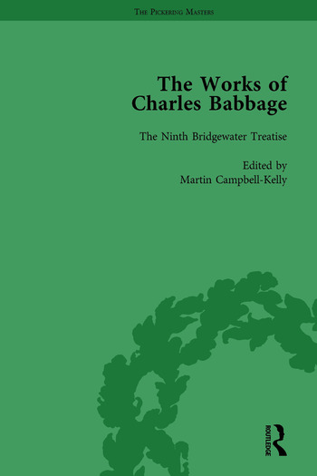 The Works of Charles Babbage Vol 9 book cover