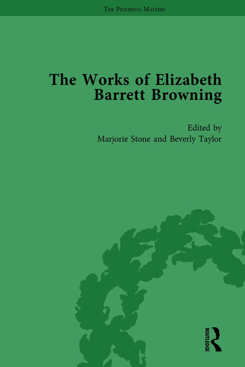 The Works of Elizabeth Barrett Browning Vol 1 book cover