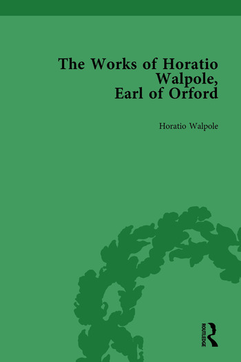 The Works of Horatio Walpole, Earl of Orford Vol 5 book cover