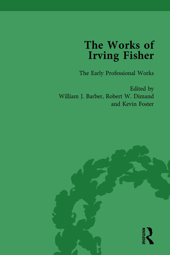 The Works of Irving Fisher Vol 1 book cover