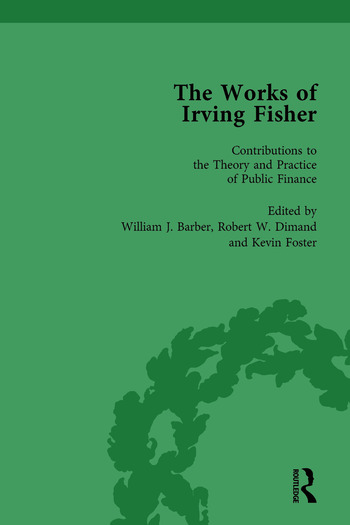 The Works of Irving Fisher Vol 12 book cover