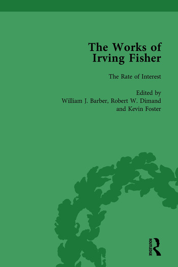The Works of Irving Fisher Vol 3 book cover