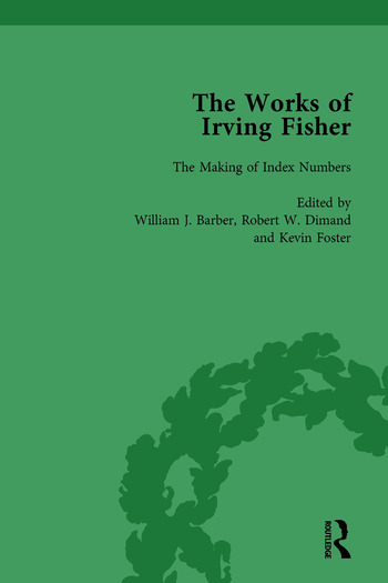 The Works of Irving Fisher Vol 7 book cover