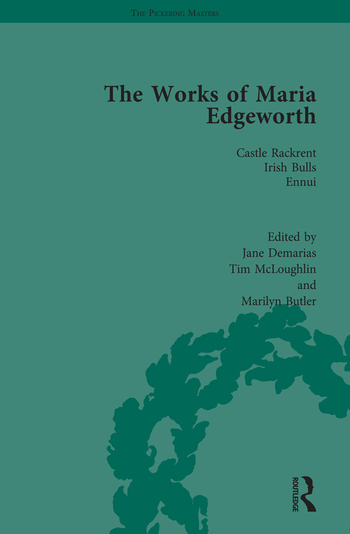The Works of Maria Edgeworth, Part I Vol 1 book cover