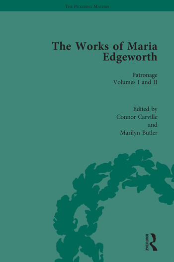 The Works of Maria Edgeworth, Part I Vol 6 book cover