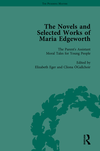 The Works of Maria Edgeworth, Part II Vol 10 book cover