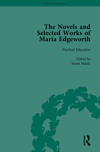 The Works of Maria Edgeworth, Part II Vol 11 book cover