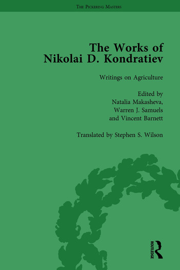 The Works of Nikolai D Kondratiev Vol 3 book cover