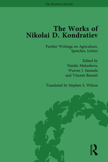 The Works of Nikolai D Kondratiev Vol 4 book cover