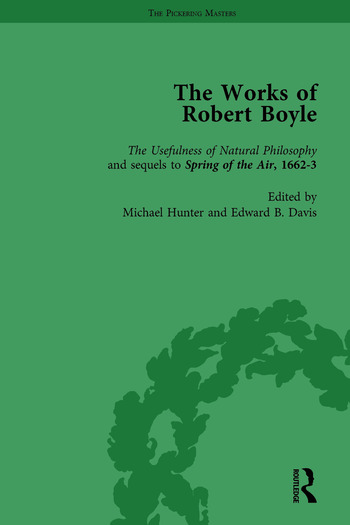 The Works of Robert Boyle, Part I Vol 3 book cover