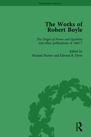 The Works of Robert Boyle, Part I Vol 5 book cover