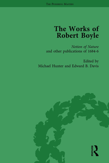 The Works of Robert Boyle, Part II Vol 3 book cover
