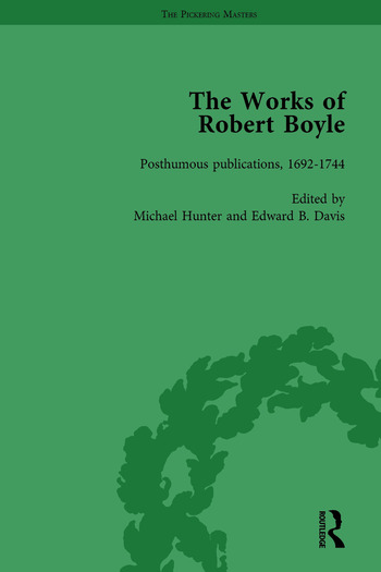 The Works of Robert Boyle, Part II Vol 5 book cover