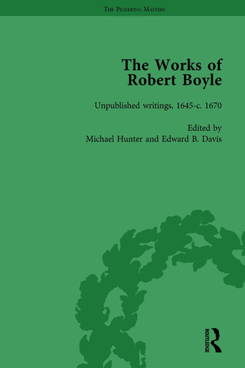 The Works of Robert Boyle, Part II Vol 6 book cover