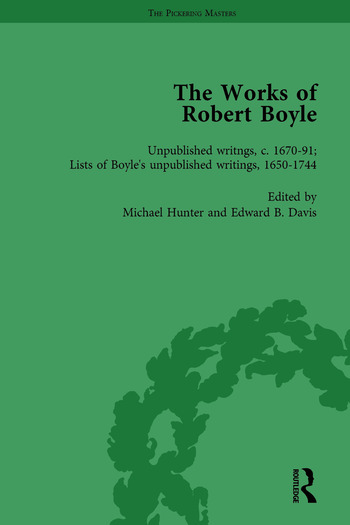 The Works of Robert Boyle, Part II Vol 7 book cover
