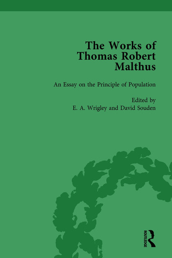 The Works of Thomas Robert Malthus Vol 2 book cover