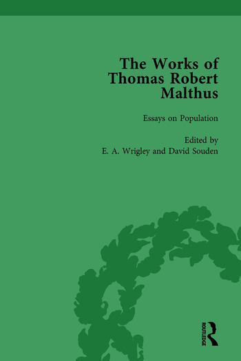 The Works of Thomas Robert Malthus Vol 4 book cover