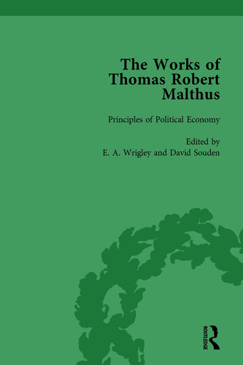The Works of Thomas Robert Malthus Vol 5 book cover