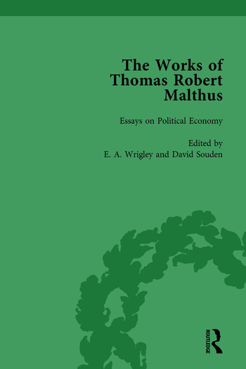 The Works of Thomas Robert Malthus Vol 7 book cover
