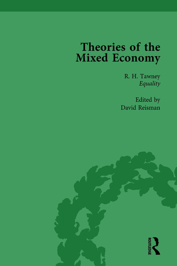 Theories of the Mixed Economy Vol 1 Selected Texts 1931-1968 book cover