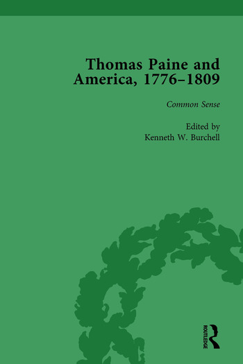 Thomas Paine and America, 1776-1809 Vol 1 book cover