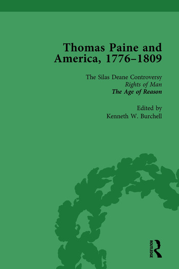 Thomas Paine and America, 1776-1809 Vol 2 book cover