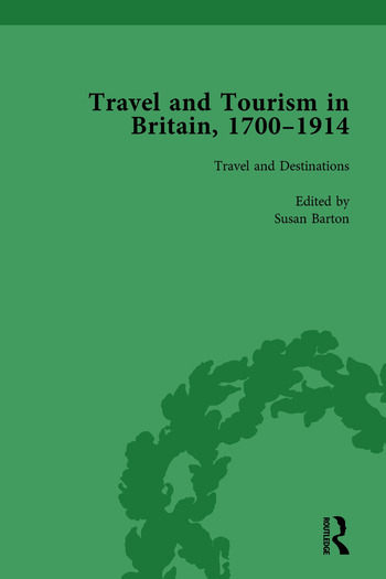 Travel and Tourism in Britain, 1700–1914 Vol 1 book cover