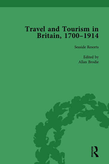 Travel and Tourism in Britain, 1700–1914 Vol 4 book cover