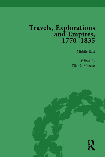 Travels, Explorations and Empires, 1770-1835, Part I Vol 4 Travel Writings on North America, the Far East, North and South Poles and the Middle East book cover