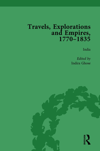 Travels, Explorations and Empires, 1770-1835, Part II vol 6 Travel Writings on North America, the Far East, North and South Poles and the Middle East book cover