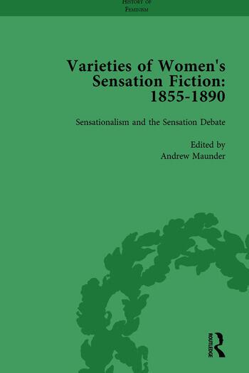 Varieties of Women's Sensation Fiction, 1855-1890 Vol 1 book cover
