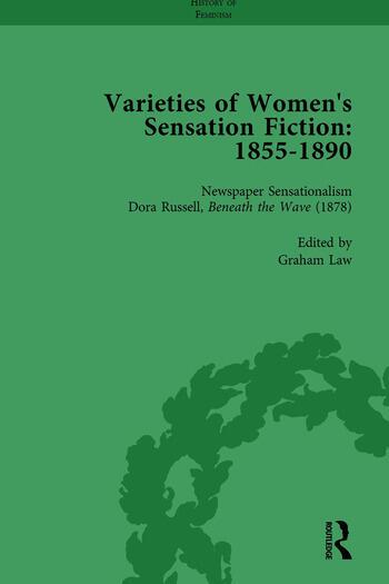 Varieties of Women's Sensation Fiction, 1855-1890 Vol 6 book cover