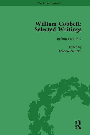 William Cobbett: Selected Writings Vol 3 book cover