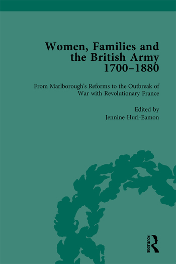Women, Families and the British Army 1700–1880 book cover