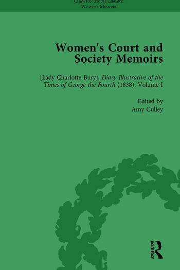 Women's Court and Society Memoirs, Part I Vol 1 book cover